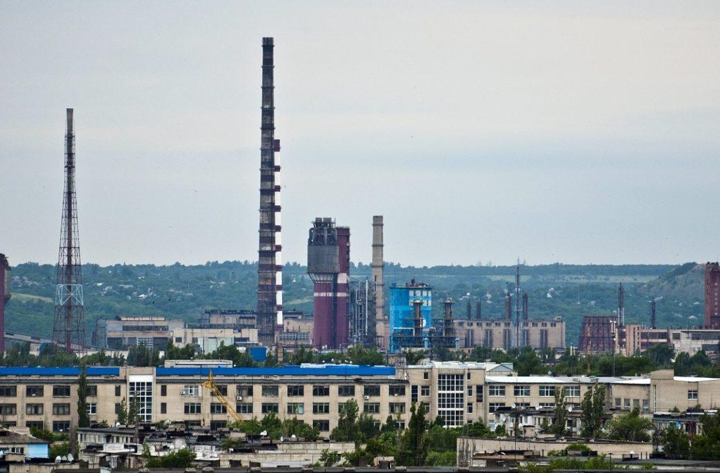Украина пытается возобновить работу северодонецкого «Азота» в Луганской области