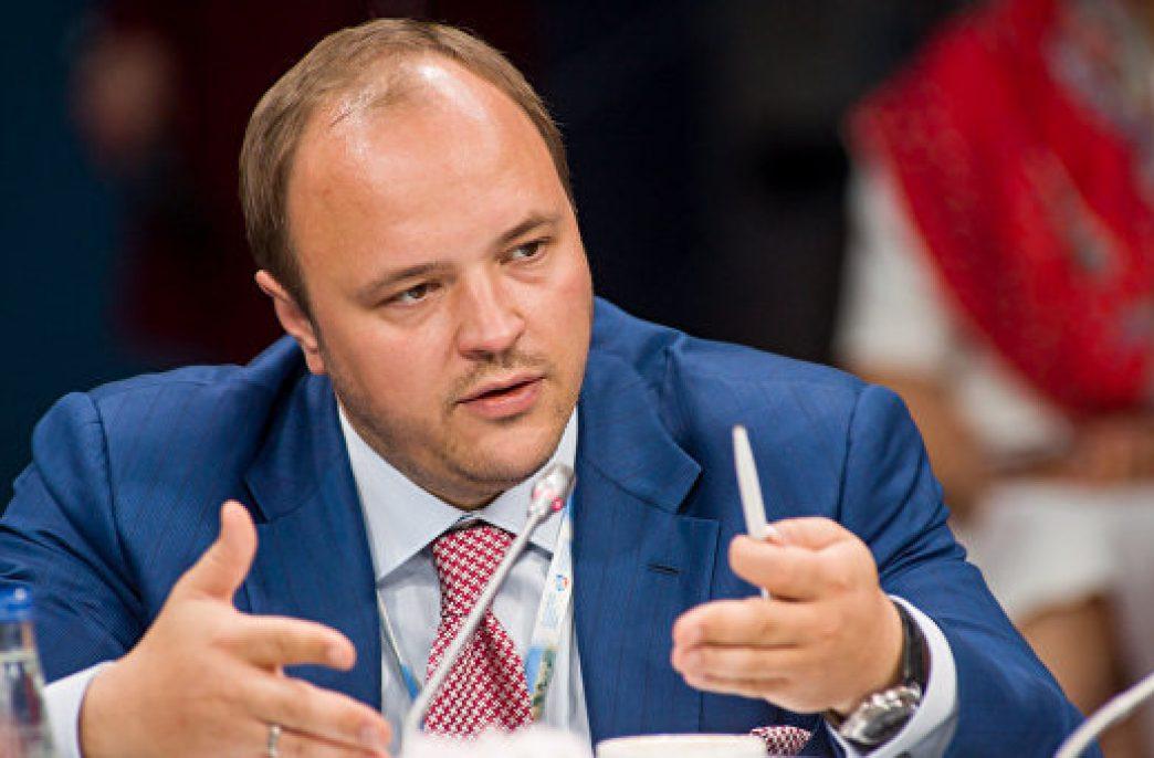 Генеральный директор ОАО «ФосАгро» Андрей Гурьев выступил на ПМЭФ