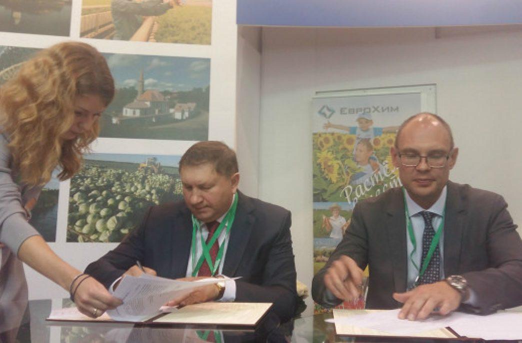«ЕвроХим» обеспечит сельхозпроизводителей Ленинградской области минеральными удобрениями