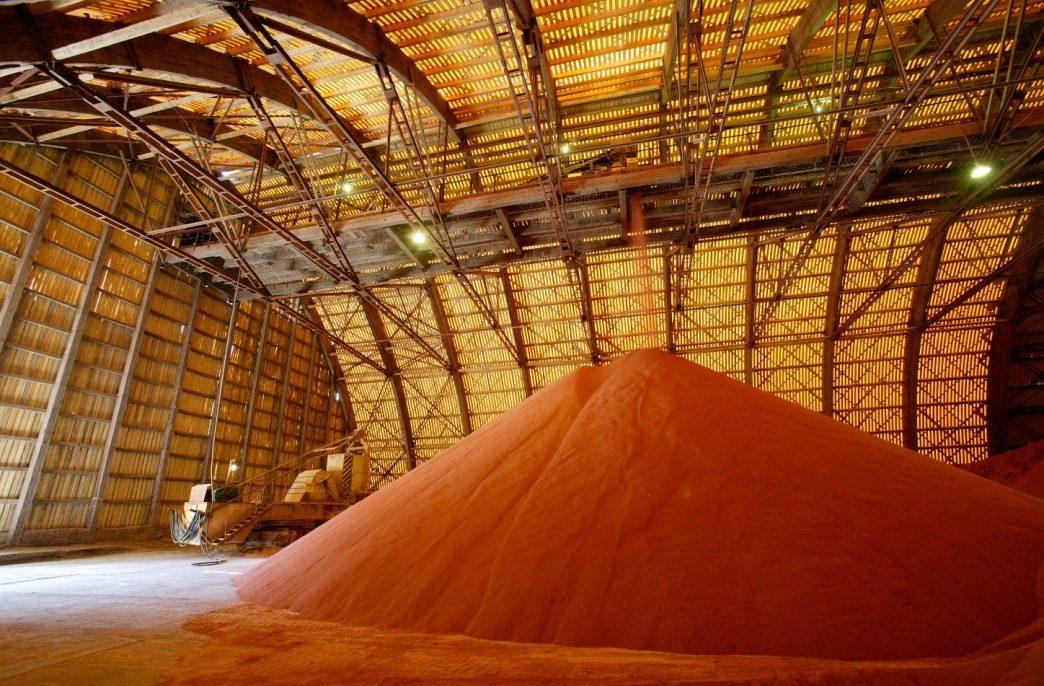 Выручка «Уралкалия» за 9 месяцев 2016 года снизилась на 29% до 1.68 млрд. долларов