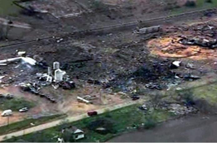 В США удовлетворена часть исков от пострадавших во время пожара на заводе West Fertilizer Company