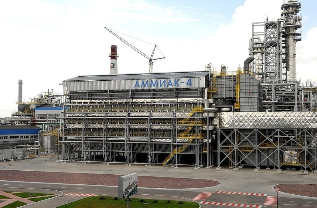 «Акрон» запустил новую наливную станцию аммиака