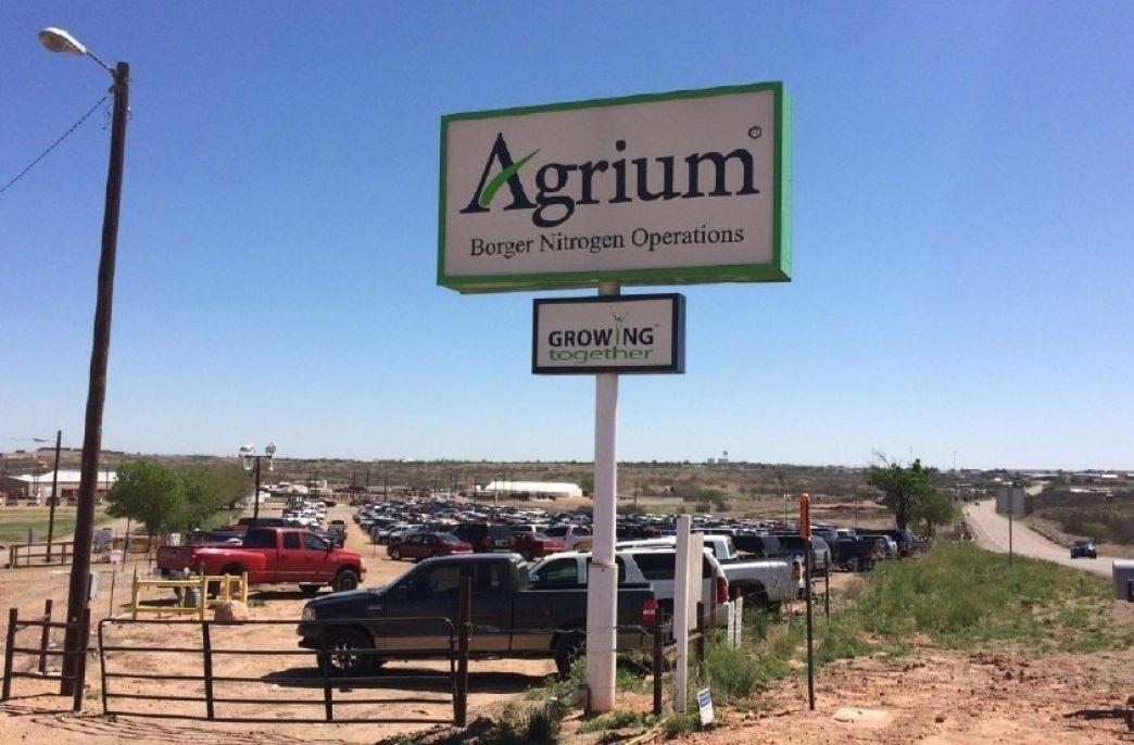 Компания Agrium закончила строительство проекта стоимостью 720 млн долларов