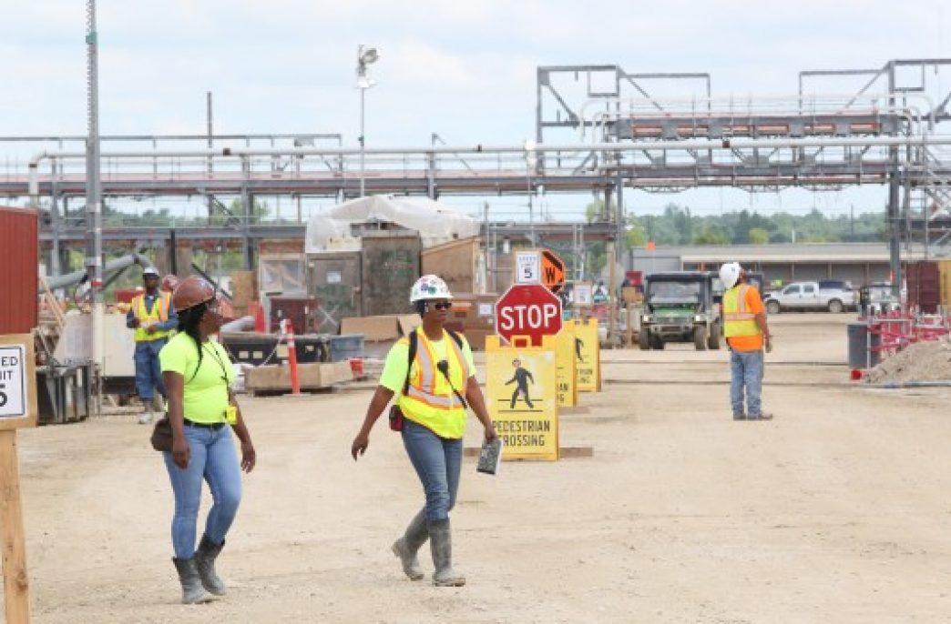 Еще один завод по производству удобрений начал свою работу в штате Айова