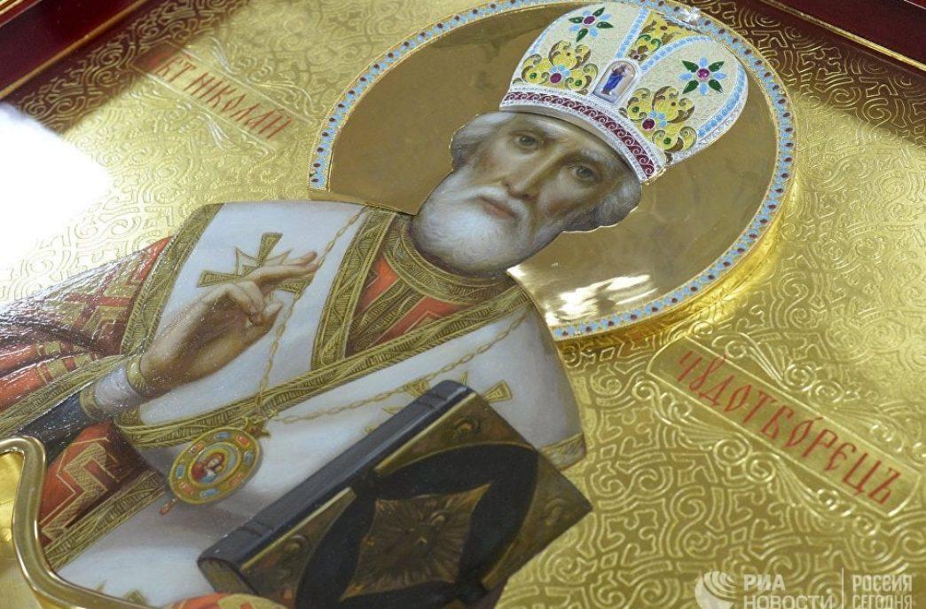 Фосагро привезла в Россию мощи святителя Николая Чудотворца