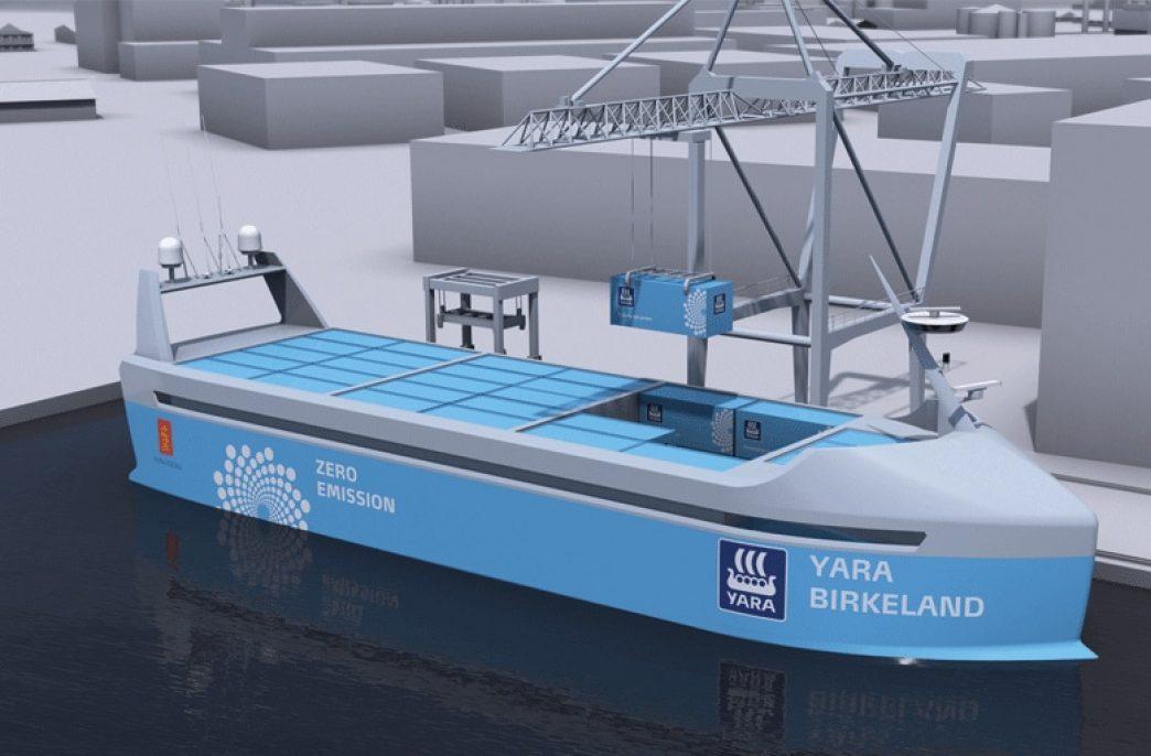 Компания Yara намерена построить корабль будущего
