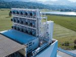 Новая установка по забору CO2 из атмосферы начала свою работу на заводе в Швейцарии