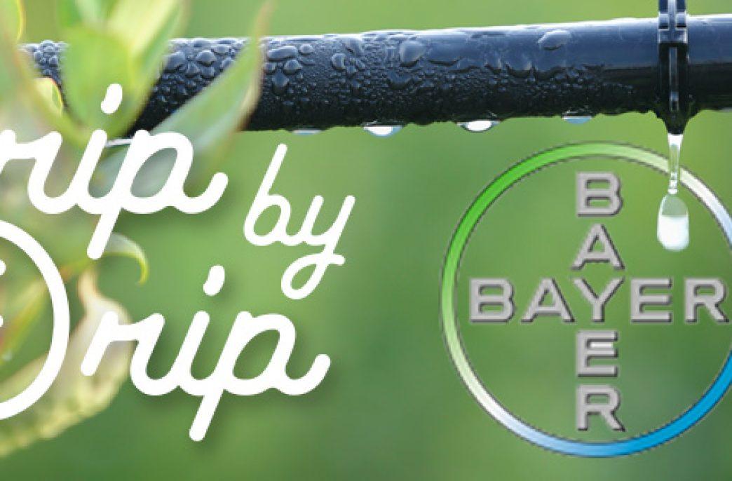 «Капля за каплей» — новая система капельного орошения от Bayer AG и Netafim