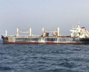 Пожар на британском судне, перевозящем нитрат аммония, наконец-то потушен