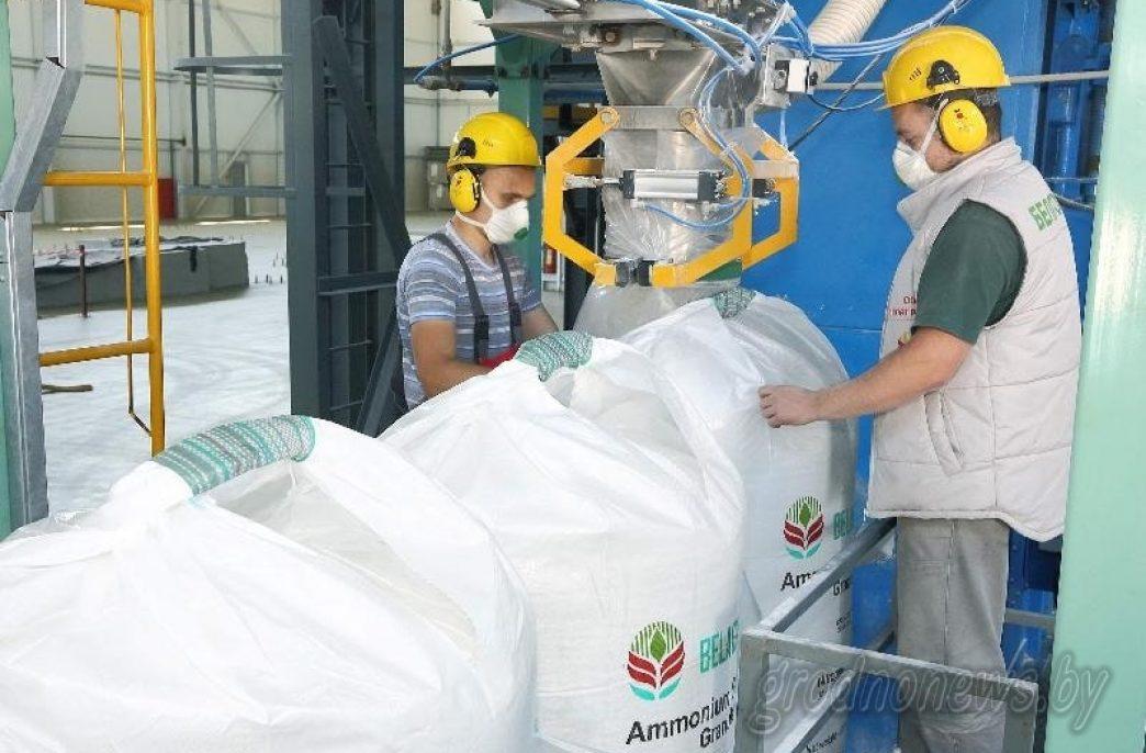 В Белоруссии построен новый завод по производству сульфата аммония