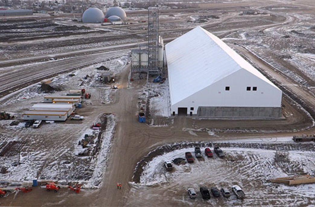 В канадском городе Брандон построен новый логистический центр для распределения удобрений