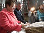Губернатор Владимирской области Светлана Орлова высоко оценила органические удобрения Александровской птицефабрики