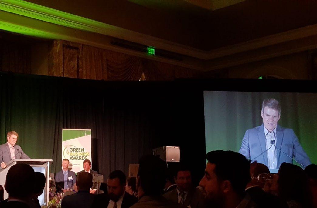 Журнал Utah Business наградил компанию Aqua-Yield премией Green Award Winner