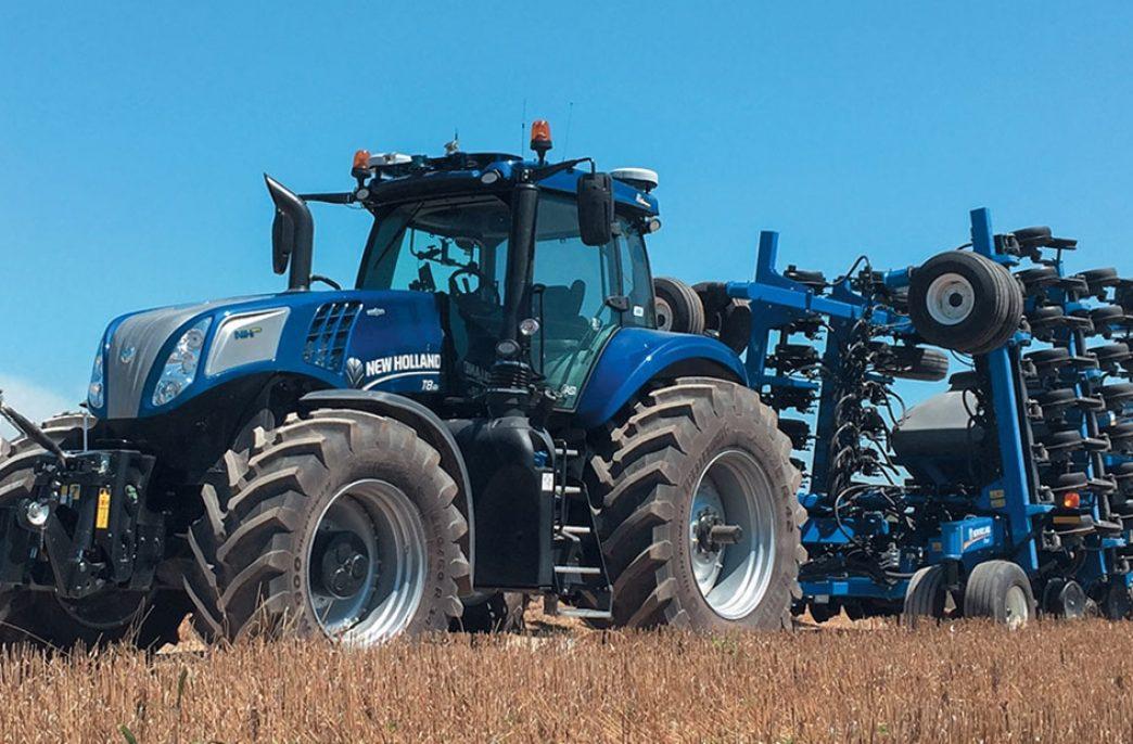 Тракторы будущего будут работать на метане
