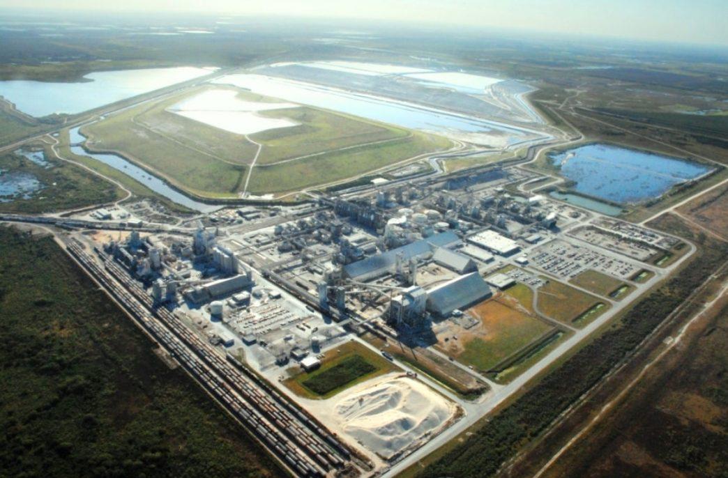 В штате Флорида компания Mosaic закрывает свой завод по производству удобрений