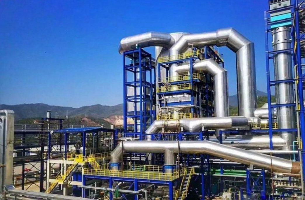 В Китае запущен крупнейший cернокислотный завод