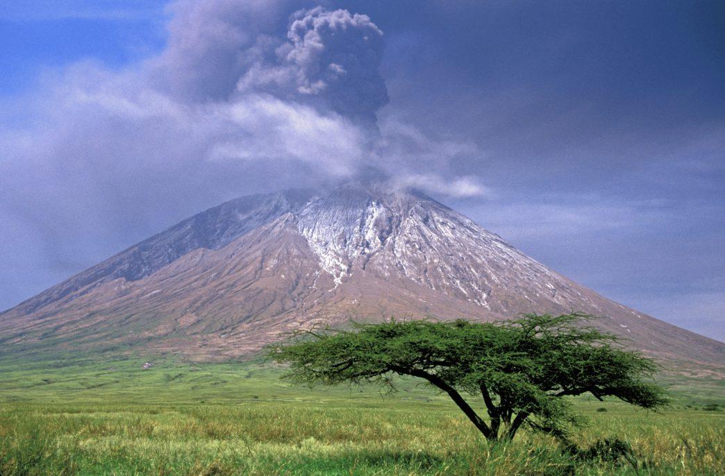 В жаркой жаркой Африке, в восточной ее части