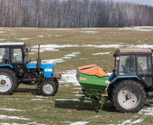 Рязанские фермеры готовятся подкармливать озимые