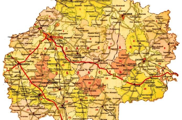 В17 районах Рязанской области ведутся полевые работы