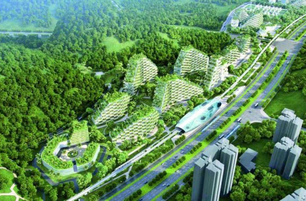 В Китае создадут города будущего
