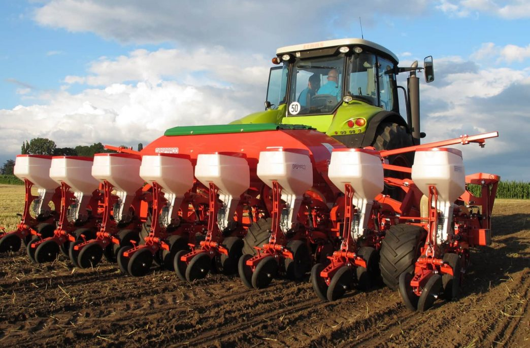 Площади посевов яровых в России приблизились к 45 млн. га