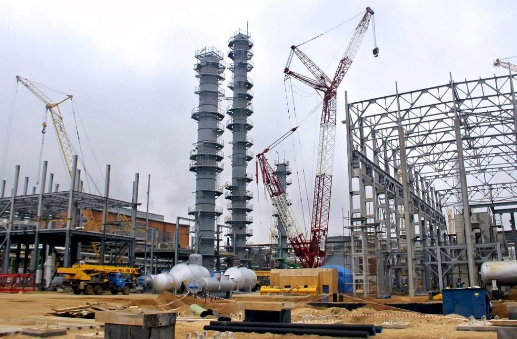 «Щекиноазот» обкатывает оборудование нового комплекса
