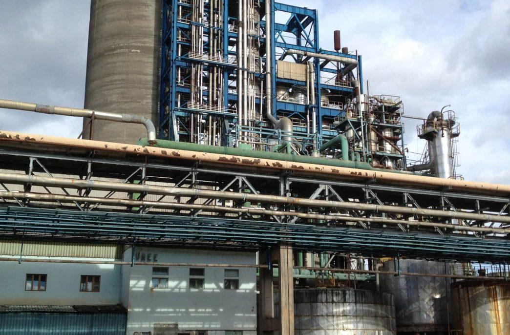 Petrochemical Industries закрыла карбамидный завод