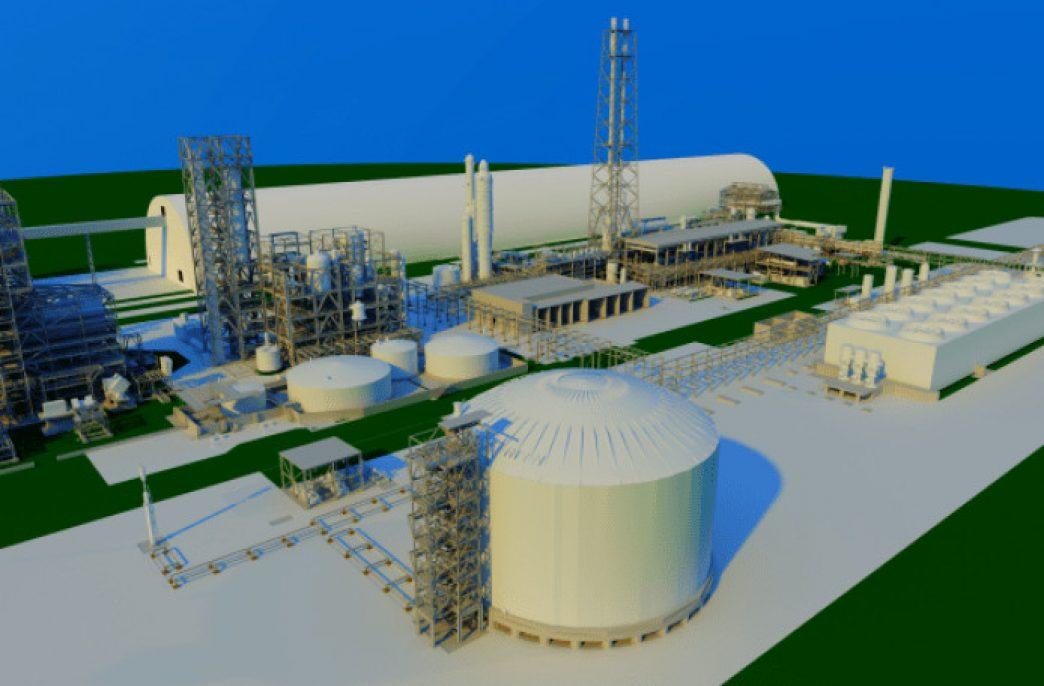 В Брунее стартовало строительство аммиачно-карбамидного завода