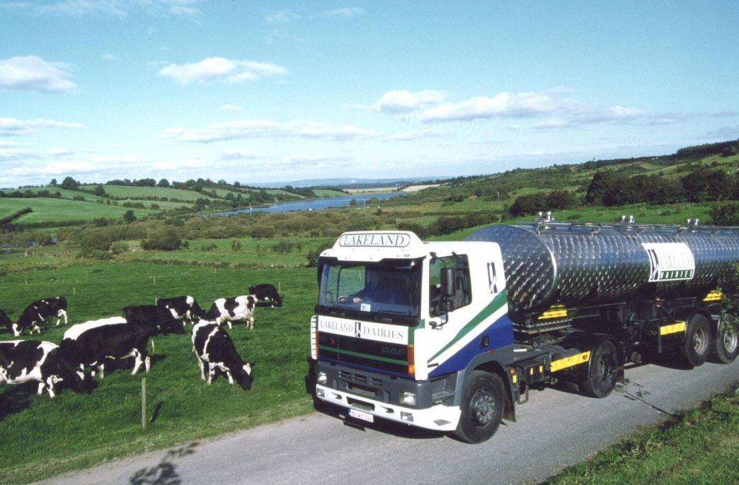 Lakeland Dairies поддерживает молочные фермы с помощью удобрений