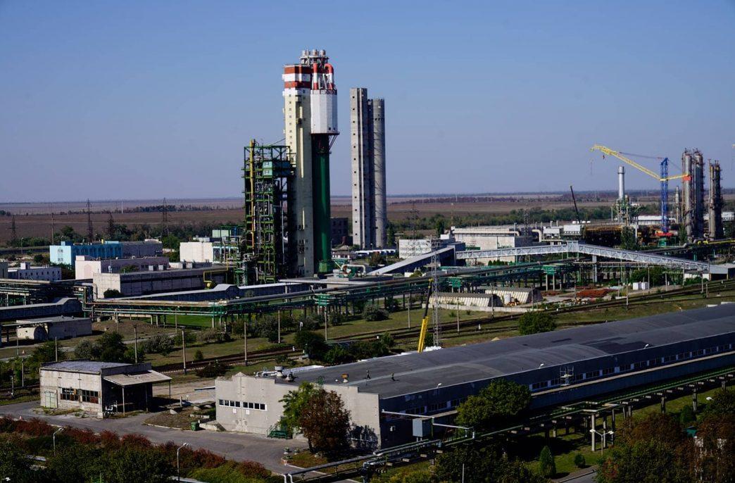 Одесский припортовый завод может заработать в сентябре