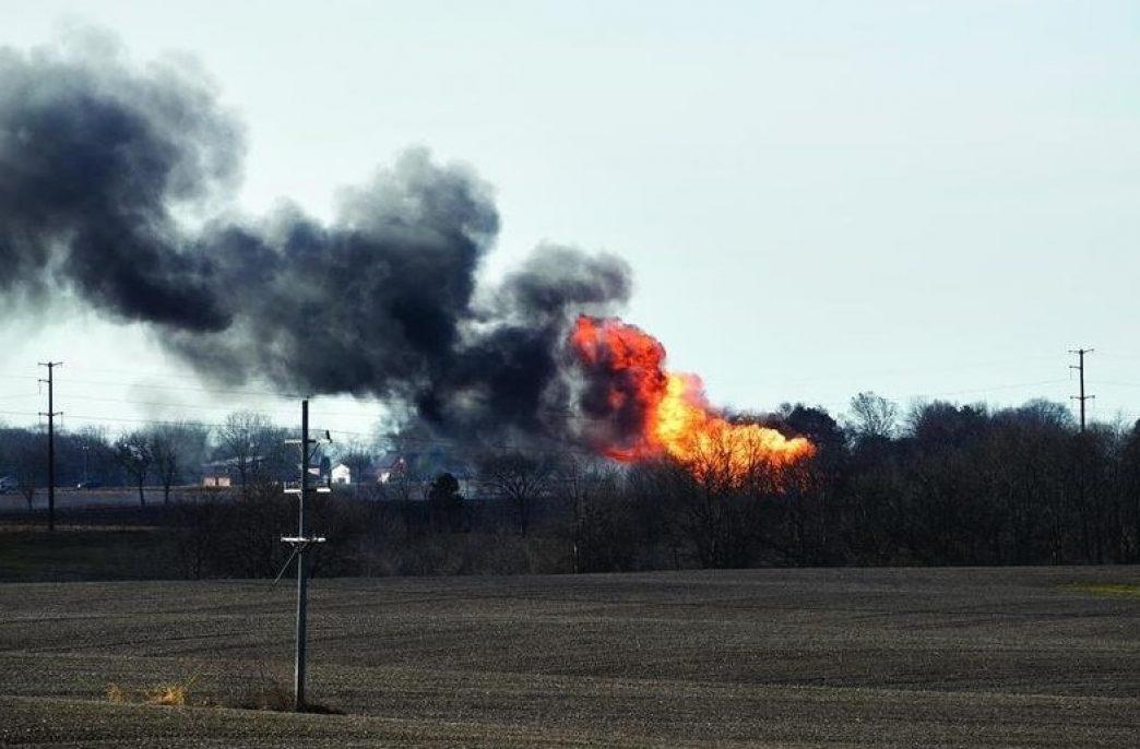 В США взорвался завод удобрений