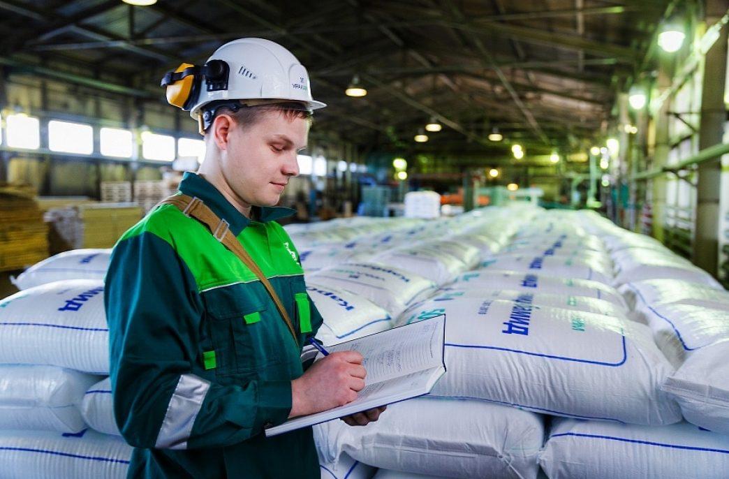 Поставки «Уралхима» в России увеличились на 18%