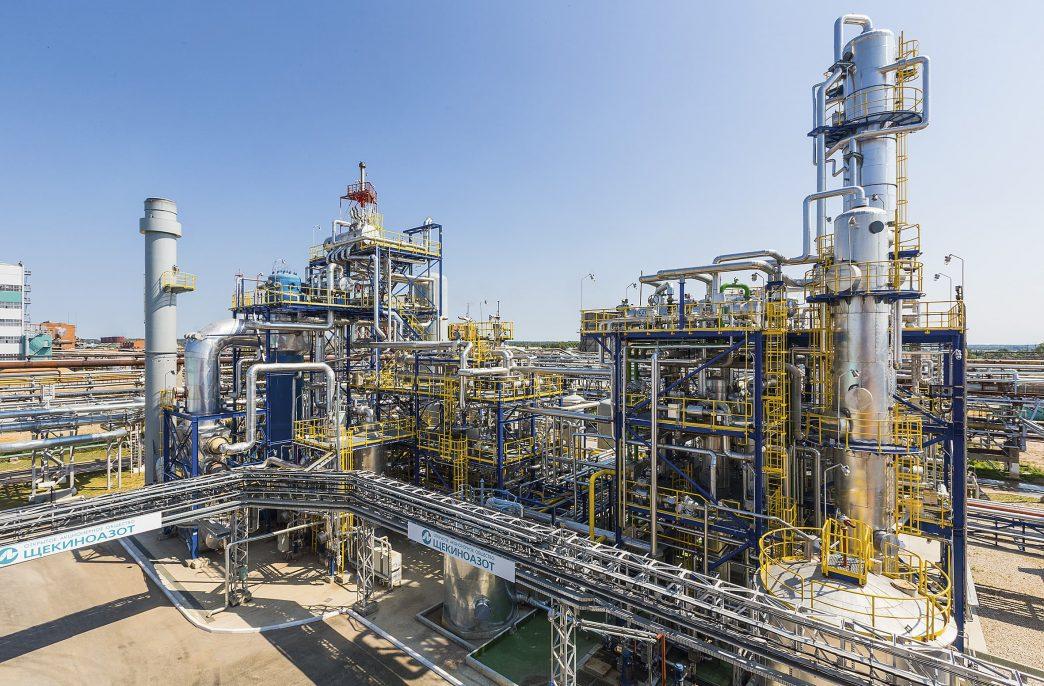 «Щекиноазот» запустит производство аммиачной селитры через 3 года
