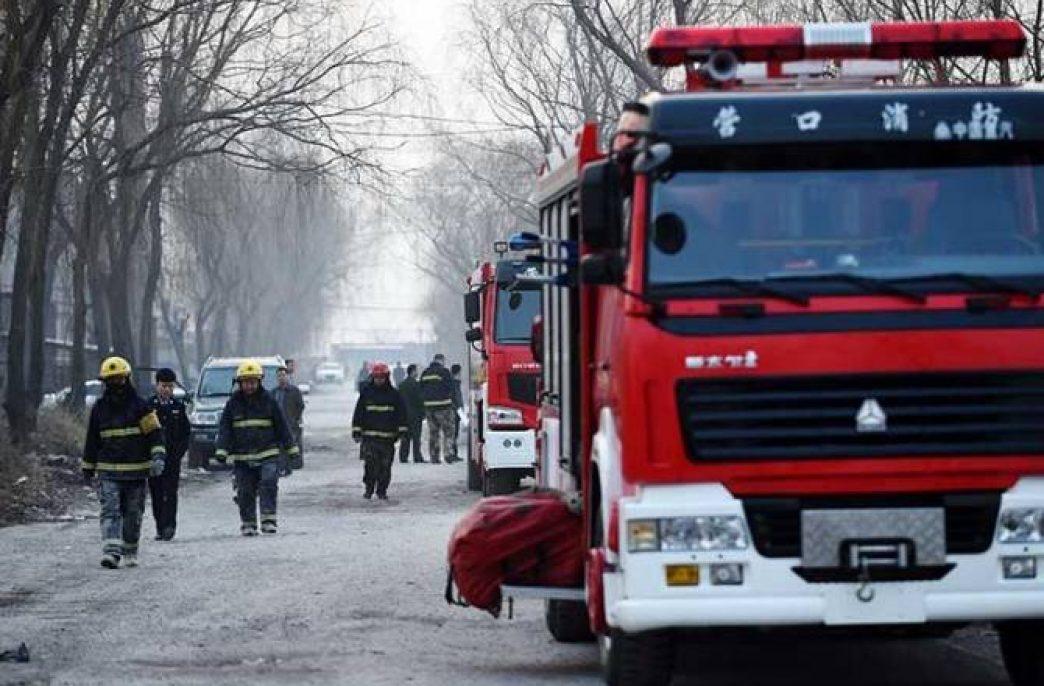 В Китае произошел взрыв на заводе удобрений