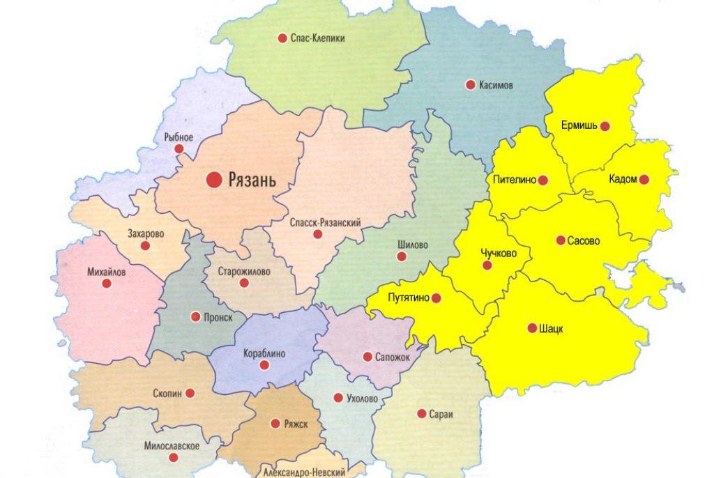 В Рязанской области произвесткуют 30 тыс. га земель