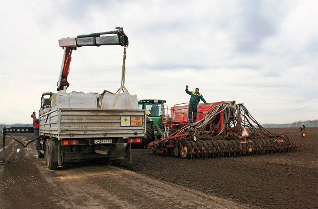 В Рязанской области приобретено 61,5 тыс. тонн удобрений