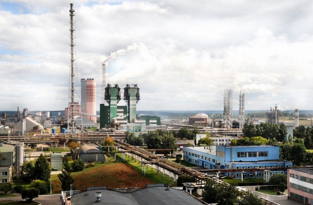 «Акрон» запустил новый агрегат азотной кислоты