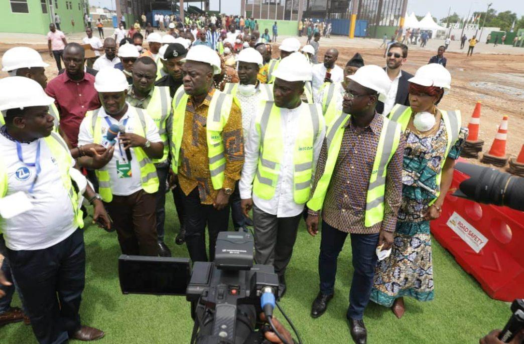 В Гане начал работу новый завод удобрений