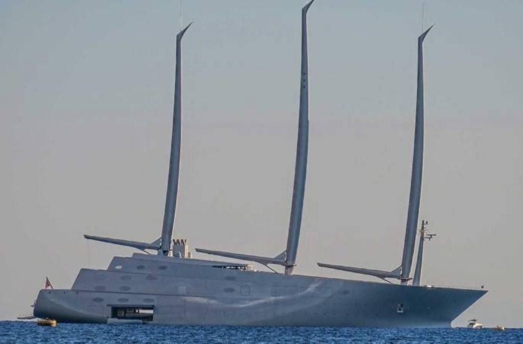Яхта владельца «ЕвроХима» вызвала шок в Монако