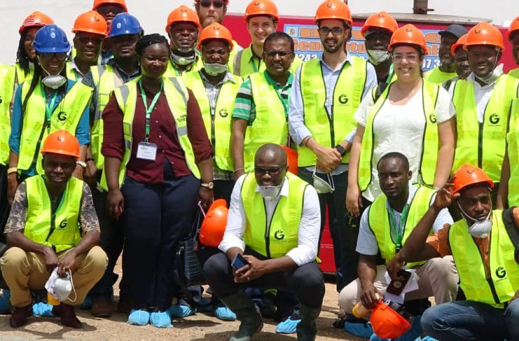 В Гане заработает новый завод по смешиванию удобрений