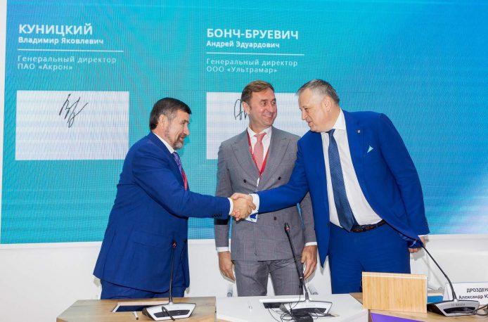 «Акрон» увеличит перевалку через порты России