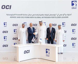 Adnoc и OCP Group создадут нового лидера