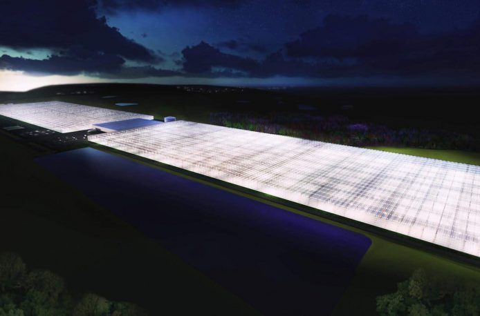 AppHarvest построит крупнейшую теплицу в США