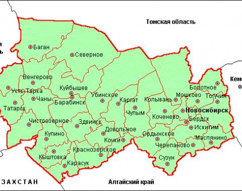 коченевский элеватор на карте