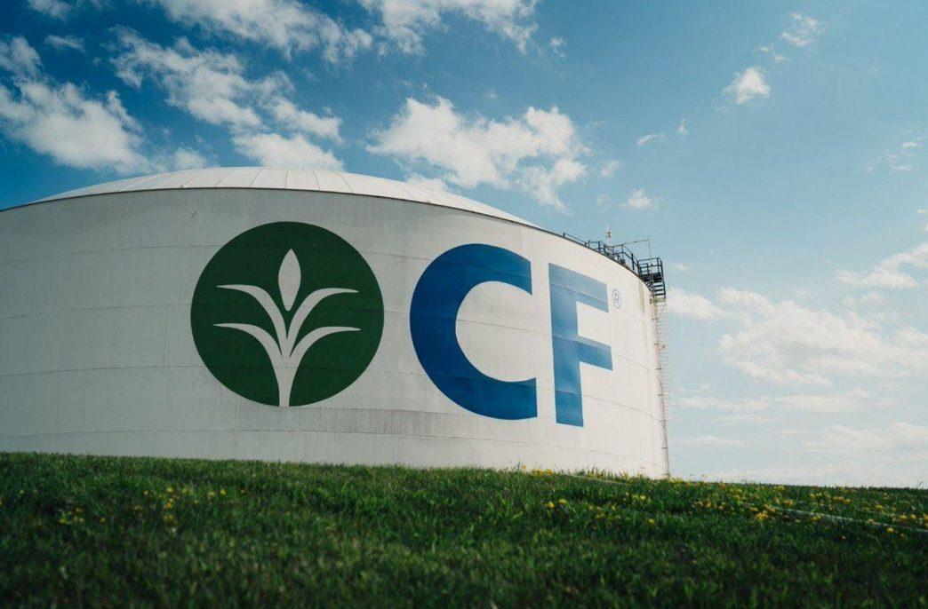 CF Industries резко увеличила выпуск аммиачной селитры