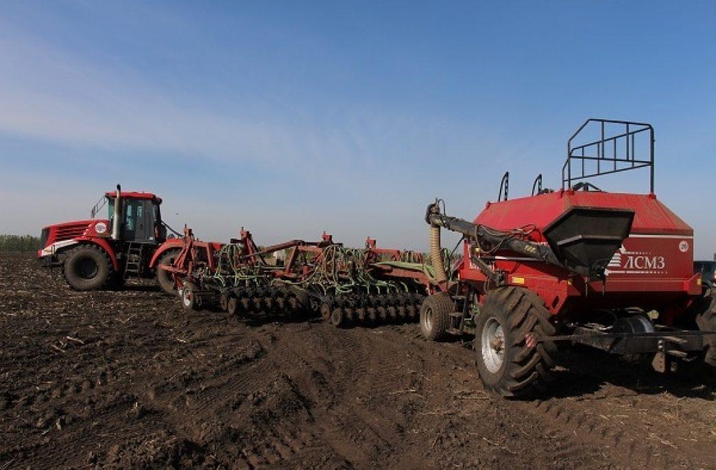 В Алтайском крае начался озимый сев