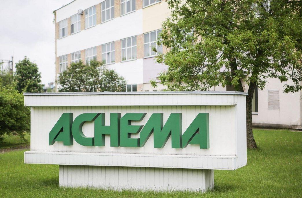 Achema  продолжает получать российский газ