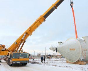 «Тольяттиазот» продолжает строить новый агрегат