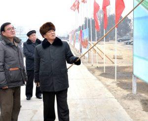 В КНДР завершается строительство завода удобрений