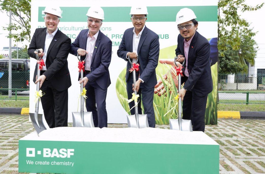 BASF откроет новый центр в Сингапуре